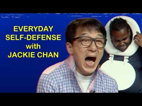 JACKIE CHAN Shows You How to Fight with Random Objects