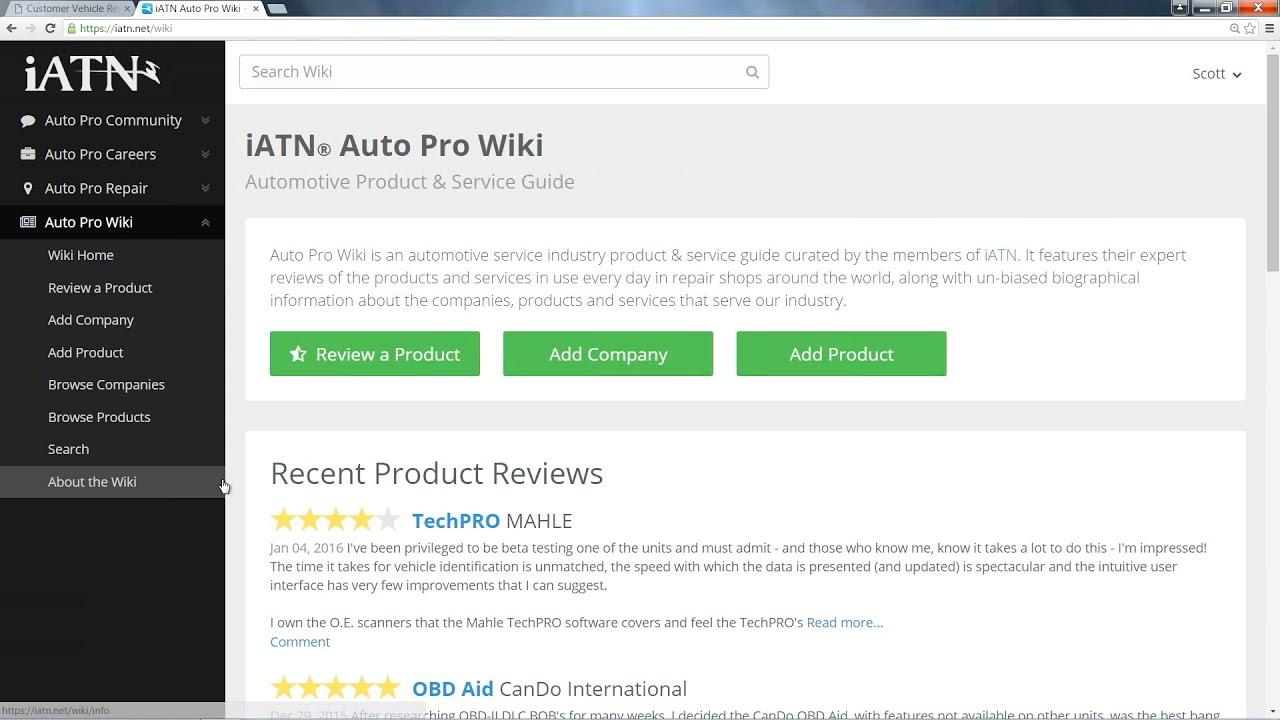 iATN Auto Pro Wiki - Automotive Product & Service Guide - YouTube