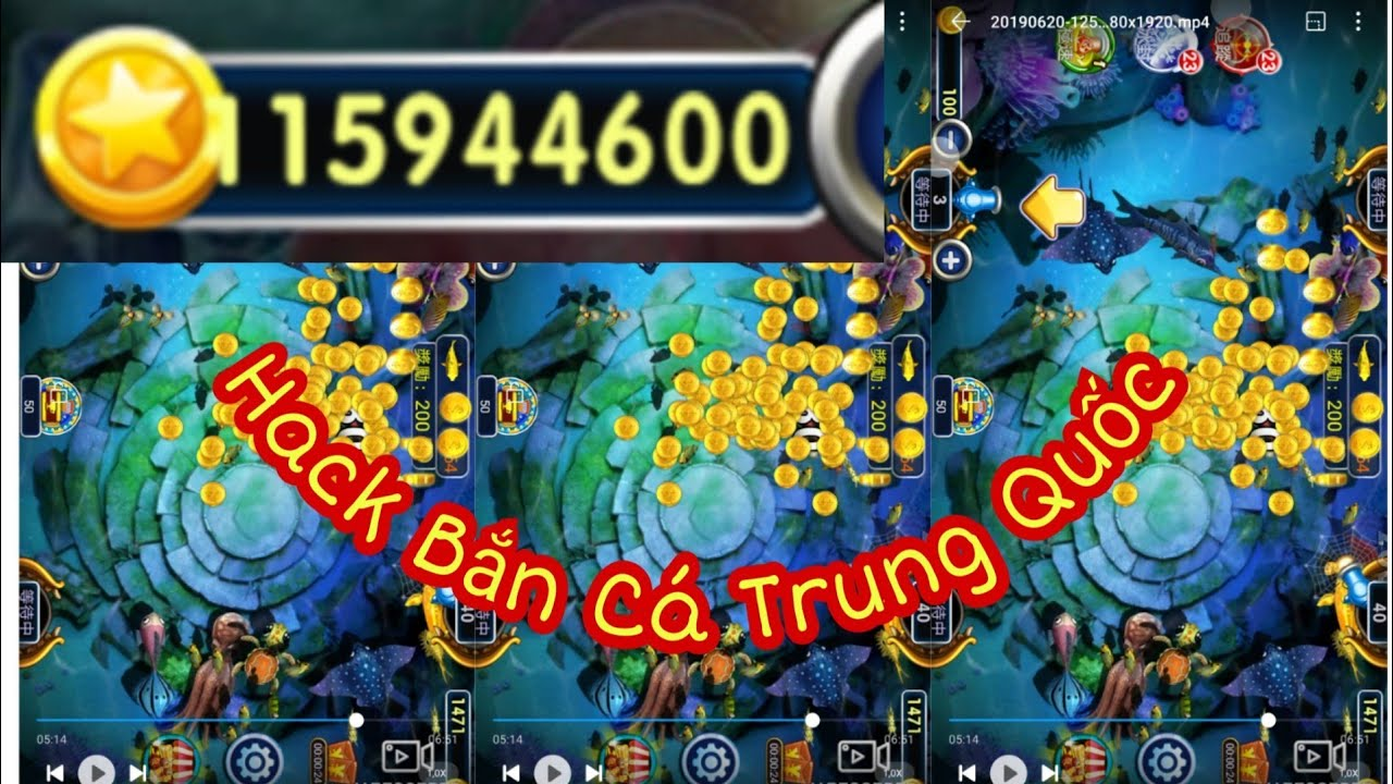 Hack Xu Game Bắn Cá Trung Quốc ( Unlimited purchase of chinese game gold )