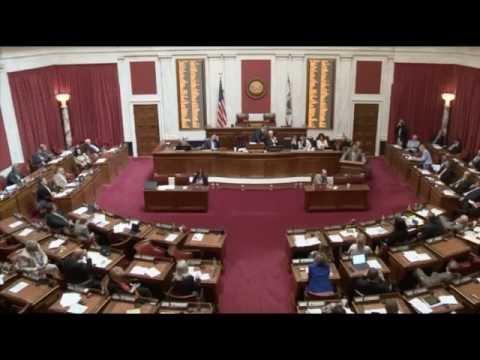 WV Legislature: Senator Walters Questions Secretary Kiss on the Budget