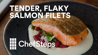 Tender, Flaky Salmon Filets with Sous Vide