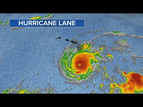 Category 4 Hurricane Lane threatens Hawaii