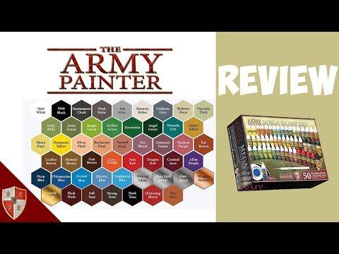 Army Painter Mega Paint Set Review