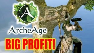 Archeage - Gambling and the Dark Side of Farming!
