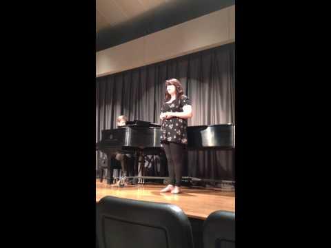 Alys singing Bluebird (R. Schirmer)