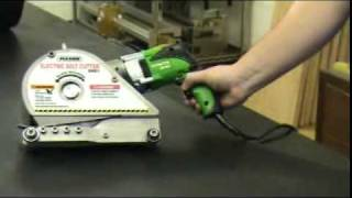 Electric Belt Cutter Installation