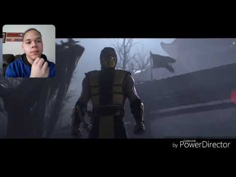 Mortal Kombat  trailer reaction!!