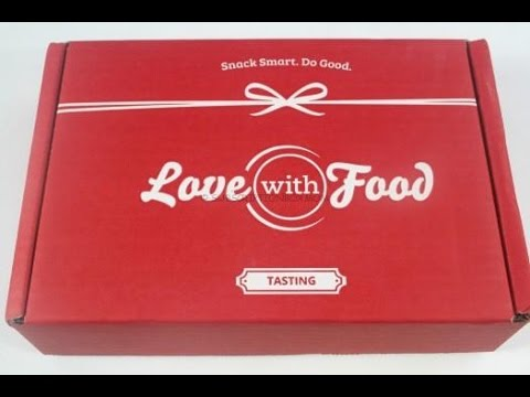 Love With Food Tasting July 2015 Unboxing - Coupons + August Spoilers