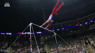 Sam Mikulak High Bar | Team USA Champions Series Presented By Xfinity