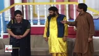 NAKEELA IFTIKHAR THAKUR & SHABANA BHATTI - PUNJABI STAGE DRAMA COMEDY CLIP - HI-TECH PAKISTANI