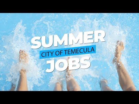 Summer Jobs At The City Of Temecula