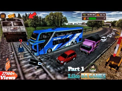 Mobile Bus Similator 2020 || Part 1 || Crazy Bus Driving || Android Gameplay || Android Games 2020.