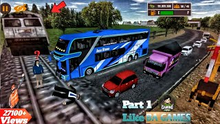 Mobile Bus Similator 2020 || Part 1 || Crazy Bus Driving || Android Gameplay || Android Games 2020. screenshot 5