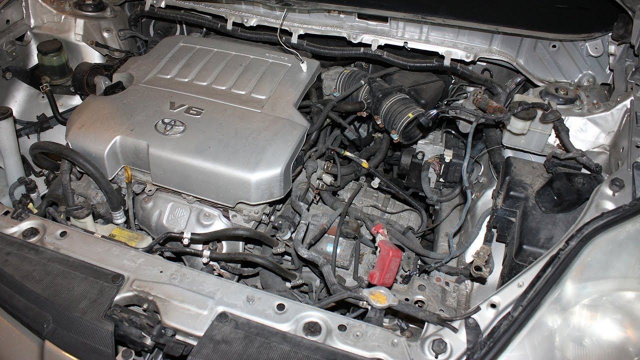 How To Replace The Starter On Toyota Sienna 3 5l Engine 2007 2010