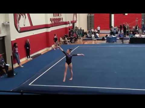 Ashley Lane Level 10 Floor 9.725 - 2018 Texas State Championships
