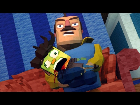 Minecraft | Hello Neighbor - ZOMBIE CHILD DIES! (Hello Neighbor in Minecraft)