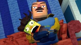 Minecraft   Hello Neighbor - ZOMBIE CHILD DIES! (Hello Neighbor in Minecraft)