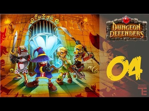 Dungeon Defenders [ Türkçe ] # 04 - Let's Play Together - Hafiften zorlasiyor :P