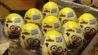 MINIONS 18 Kinder Surprise Eggs from Minions Movie