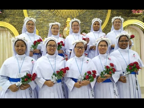 VESTITION & FIRST PROFESSION OF OUR NOVICES