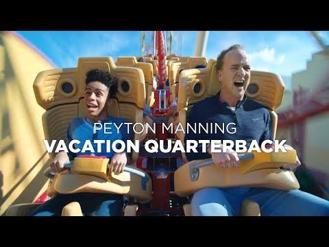 Peyton Manning - Universal Studios Vacation Quarterback - Super Bowl TVC 30 (2018)