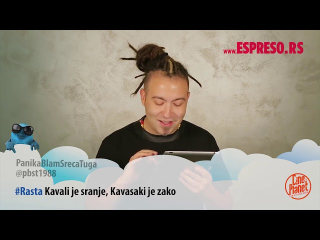 ESPRESO TVITER: Stefan Đurić Rasta