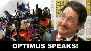 Transformers 4 to Prime - Interview with Optimus Prime voice Peter Cullen : Beyond The Trailer