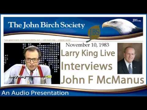 Larry King Interviews John F. McManus | Larry McDonald, KAL 007
