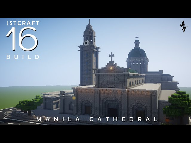 Manila Cathedral Minecraft Philippines (City of Manila) by JST Creations