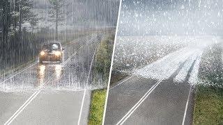 Primeira Vez Que Você Verá a Borda da Chuva e do Granizo! Coisas Que Você Verá Pela Primeira Vez