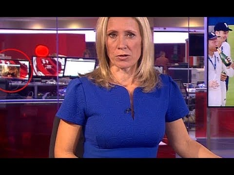 BBC worker spotted watching inappropriate video during live news broadcast