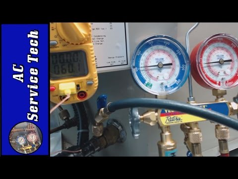 Charging Refrigerant: Checking the Charge Step by Step Procedure
