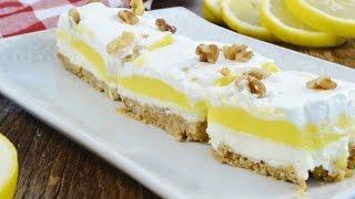 Lemon Delish - Lemon No Bake Dessert  RadaCutlery.com