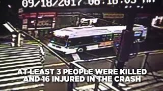 Fatal Queens Bus Crash Caught On Video