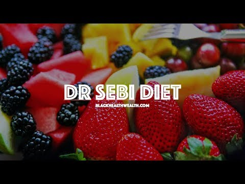 Dr Sebi Lecture Explains His Mucus Less Diet And Food List For