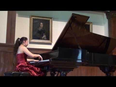 Special rendition of Chopin Fantasie Impromtu Op.66 ,  Nicole Wang