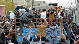 أخبار عربية - اليأس يتسلل إلى قلوب العراقيين في أول عملية توزيع مساعدات