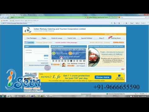 IRCTC Agent Ticket Booking