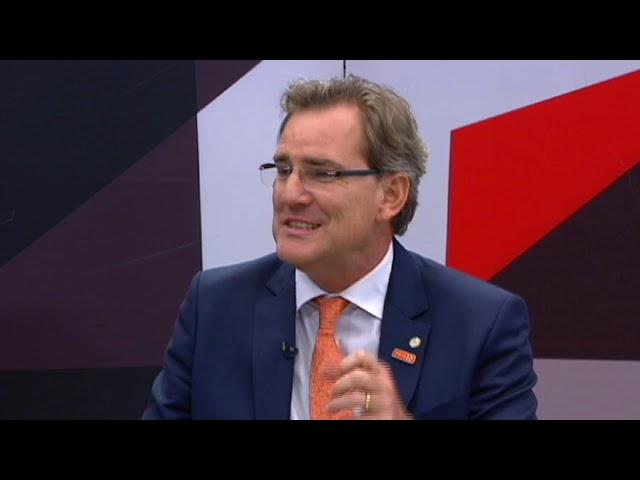 Alexis Fonteyne fala das perspectivas para o primeiro mandato