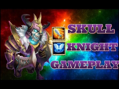 Castle Clash Skull Knight Gameplay!