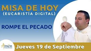 Misa de Hoy Eucaristía Digital Jueves 19 de Septiembre 2019 l Padre Fabio Giraldo