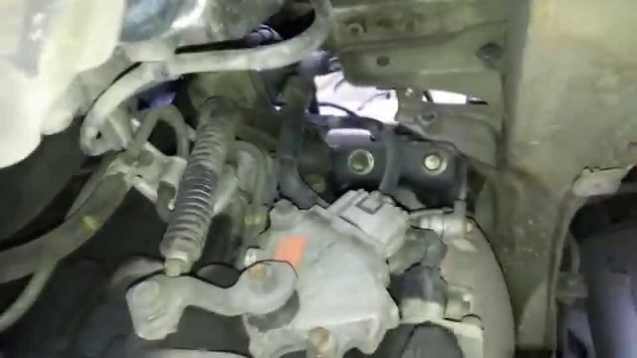 How To Remove Transmission Mount On 96 Toyota Corolla Youtube