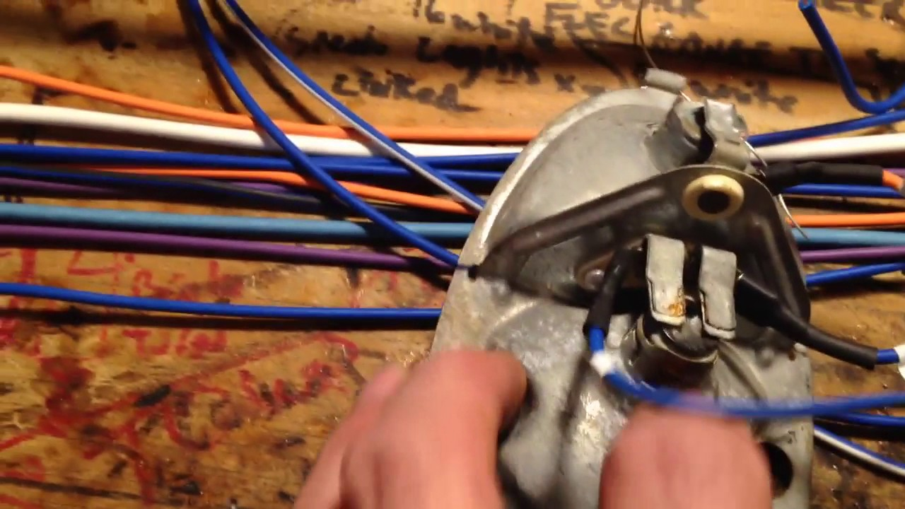 How To Wire Your Vw Dune Buggy With A Brothers Plug And 1600 Beetle Wiring Diagram Play Harness