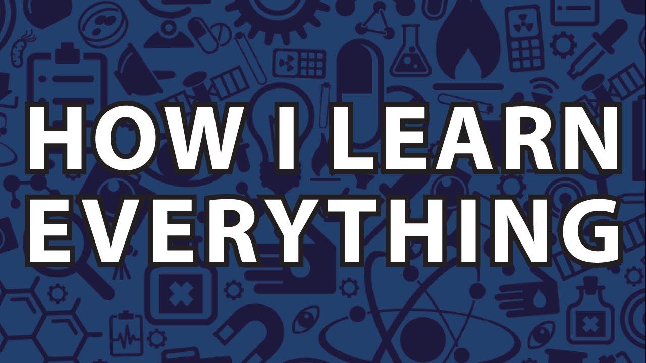 How I Learn Everything : Anki Tutorial