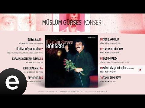 Söyleyin Şu Bülbüle (Müslüm Gürses) Official Audio #söyleyinşubülbüle #müslümgürses - Esen Müzik