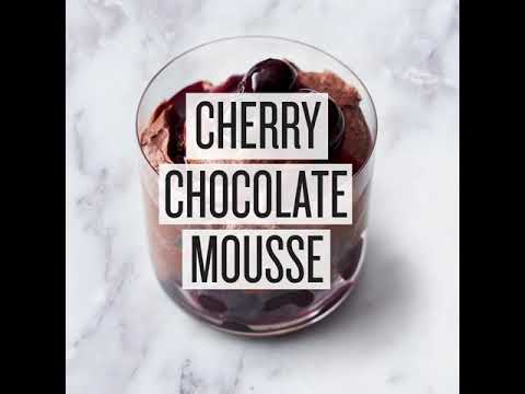 Jamie Oliver 5 Ingredients Quick Easy Food Cherry Chocolate Mousse