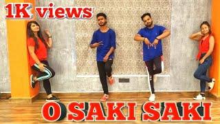 Batla House: O SAKI SAKI Video | Moin Khan , Nora Fatehi, Tanishk B, Neha K, Dance Fitness Choreo
