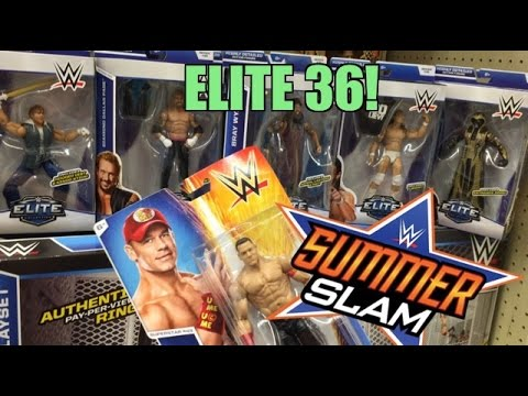 WWE SUMMERSLAM SALE at TOYSRUS! Elite 36 Wrestling Figure Toy Hunt!
