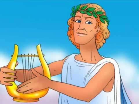 Мультфильм про богов древней греции