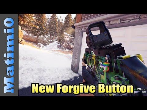 Siege Finally Adds Forgive Button - Rainbow Six Siege